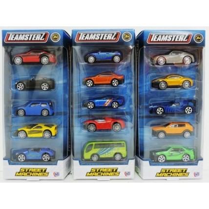 Autitos Pack X 5 Teamsterz
