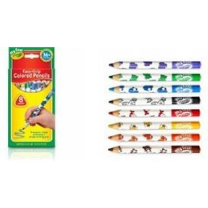 Lapices De Colores Crayola  X8 - 13cm