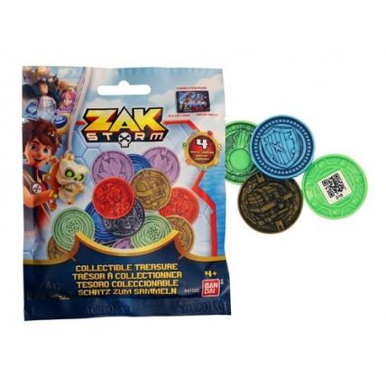 Pack Monedas Sorpresas X 4 Zak