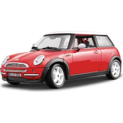 Auto De Colección Mini Cooper Escala 1/18
