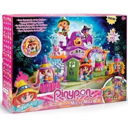 Pinypon-casa Encantada De Las Brujitas Con Luces