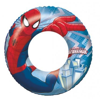 Salvavidas Inflables Spiderman 55 Cm
