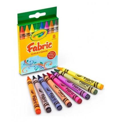 Crayones Para Telas X 8un.