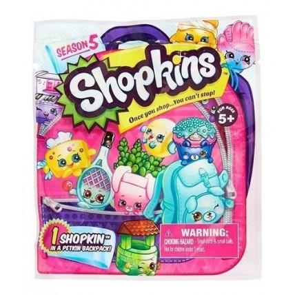 Shopkins Bolsita Con Figura + Una Mochilita