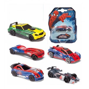 Autos Spiderman Metal Pack X1