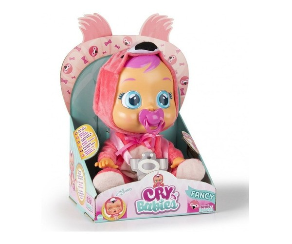 Muñeca Cry Babies Fancy . Bebe Lloron Con Lagrimas De Verdad