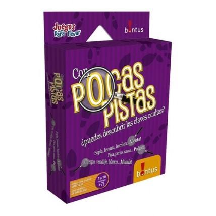 Juego De Cartas Pocas Pistas - Bontus