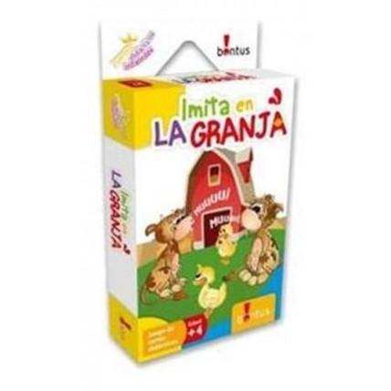 Juegos Didácticos Imita En La Granja - Bontus