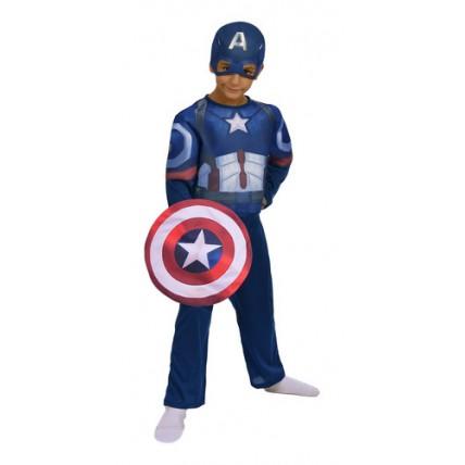 Disfraz Capitan America C/luz-t1