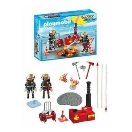 Brigada De Bomberos    Playmobil