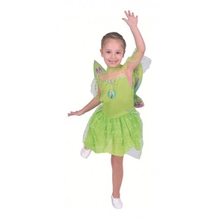 Disfraz Infantil -  Tinker Bell Campanita Con Luz-t2