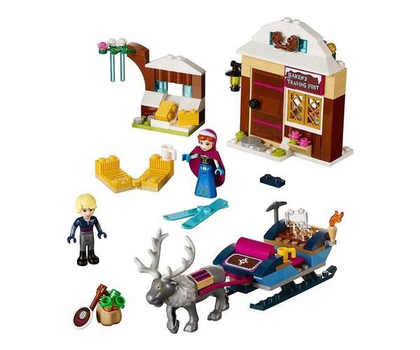 Aventura En Trineo De Anna Y Kristoff- Frozen Lego