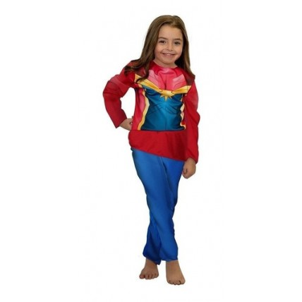 Disfraz Infantil -  Economico Capitana Marvel T 0