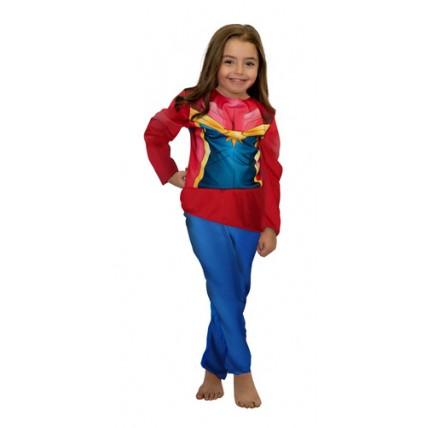 Disfraz Infantil - Economico Capitana Marvel T 2