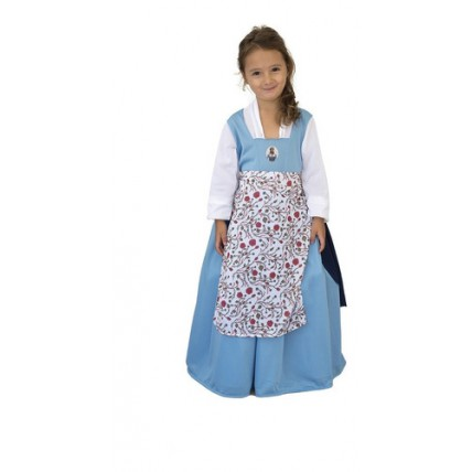 Disfraz Infantil -  La Bella Pelicula Campesina Con Luz T2