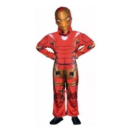 Disfraz Infantil -  Ironman Con Luz -t0