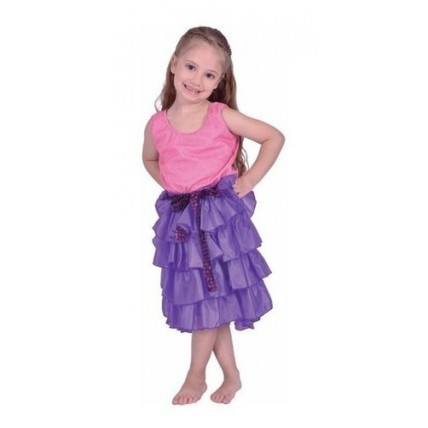 Disfraz Infantil -  Violetta Lila - Talle 1