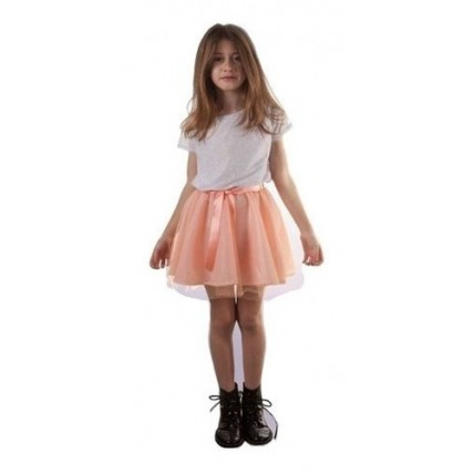 Disfraz Infantil -  Violetta Plateado Talle 1
