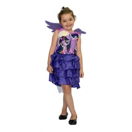 Disfraz Infantil - Pony Twilight Sparkle (violeta) Talle 0