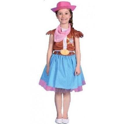Disfraz Infantil - Sheriff Callie Pollera - Talle 0