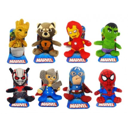 Combo X 8 Peluches Mini Avengers - Marvel
