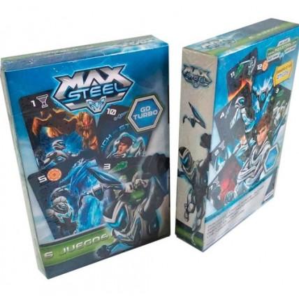 Max Steel Juego De Cartas  - 6 Juegos