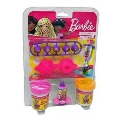 Barbie Masa  Cupcake En Blister Con 2 Chikimasas