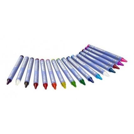 Crayones De Colores Con Glitter X 16 9cm - Crayola