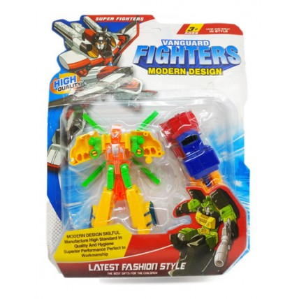 2 Transformers Figthers En Blisters