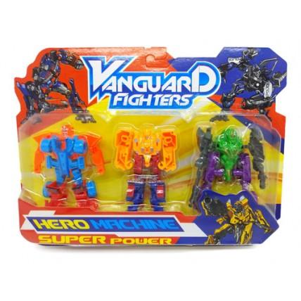 3 Transformers En Blister