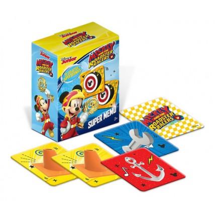 Memo Gigante Mickey Mouse - Caja De Cartulina Con 20 Fichas