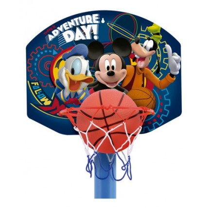Aro De Basquet Con Pie Mickey Mouse Ditoys