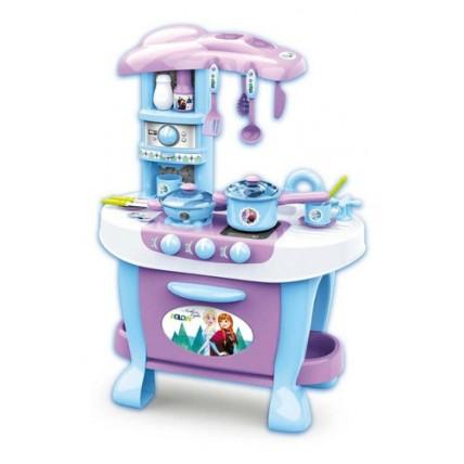 Cocinita Kitchen Design De Frozen - Ditoys