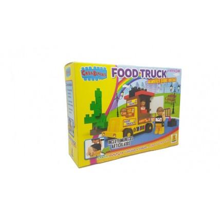 Bloques Food Truck Crea Blocks 26 Piezas De Encastre