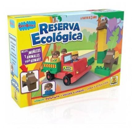 Bloques Reserva Ecologica Crea Blocks 26 Piezas De Encastre