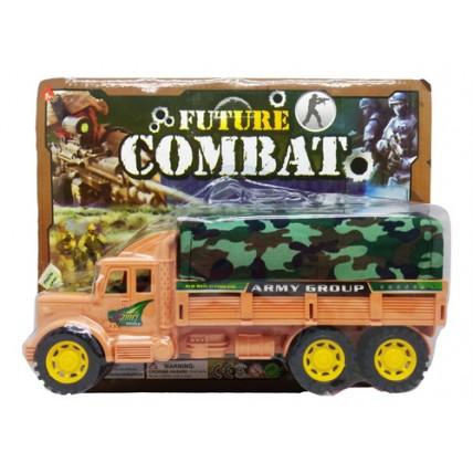 Camión De Combate A Fricción - En Blister