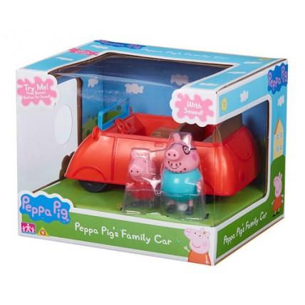 Auto Peppa Pig Con Sonido Incluye Dos Figuras