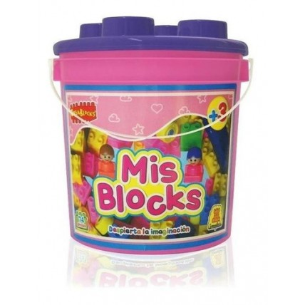 Bloques  Mis Blocks Balde Nena - Implas
