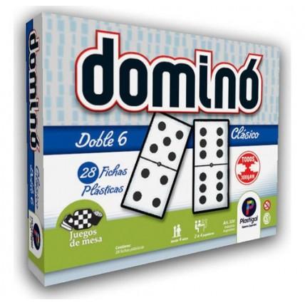 Juego De Mesa - Domino Clásico - Plastigal