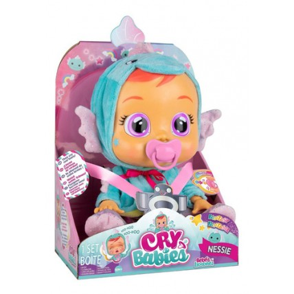 Muñeca Cry Babies (bebes Llorones) Original Nessie