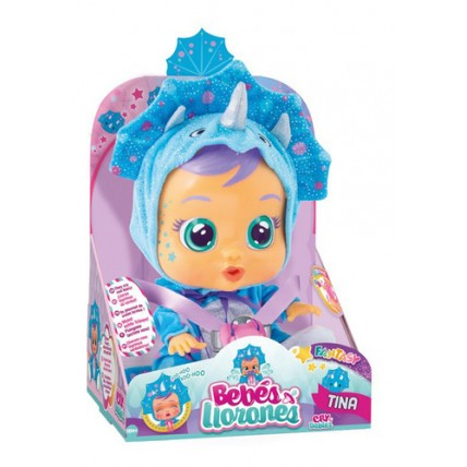 Muñeca Cry Babies (bebes Llorones) Original Tina