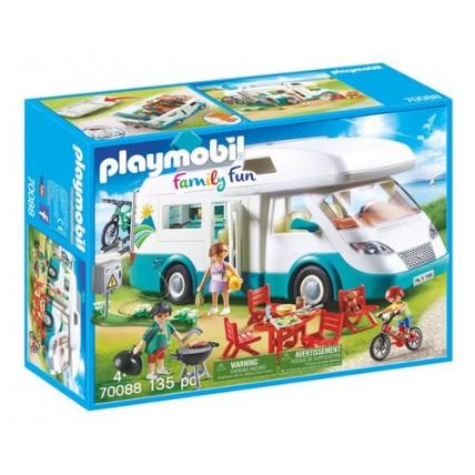 Caravana Familiar De Veraneo - Juegos Y Juguetes - Playmobil