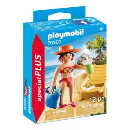 Mujer Tomando Sol Con Reposera - Juegos Y Juguetes - Playmob