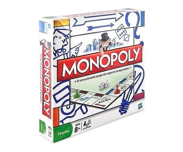 Monopoly Juego De Mesa Original Hasbro