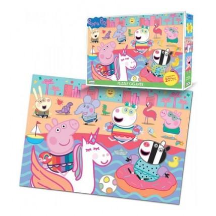 Peppa Pig- Puzzle Gigante 20 Piezas