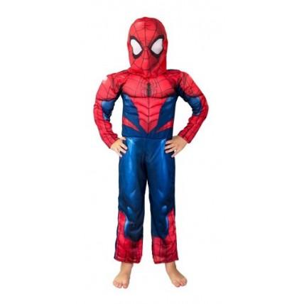 Disfraz  Premium Spiderman C/musculo