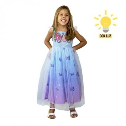 Disfraz  Barbie Dreamtopia  Princesas Con Luz Talle 2