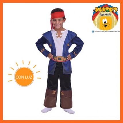 Disfraz Capitan Jake C/luz-t1