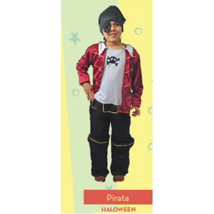 Disfraz Halloween Pirata Nene C/parche