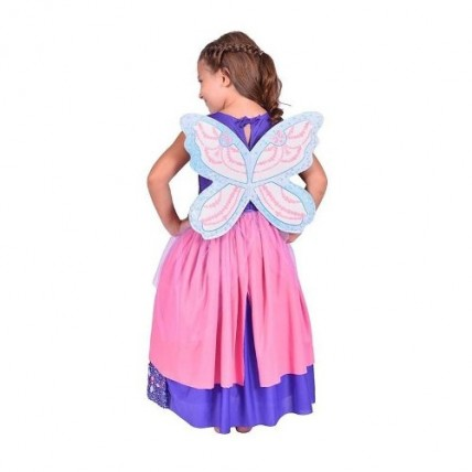 Disfraz Barbie Mariposa Violeta Talle 0